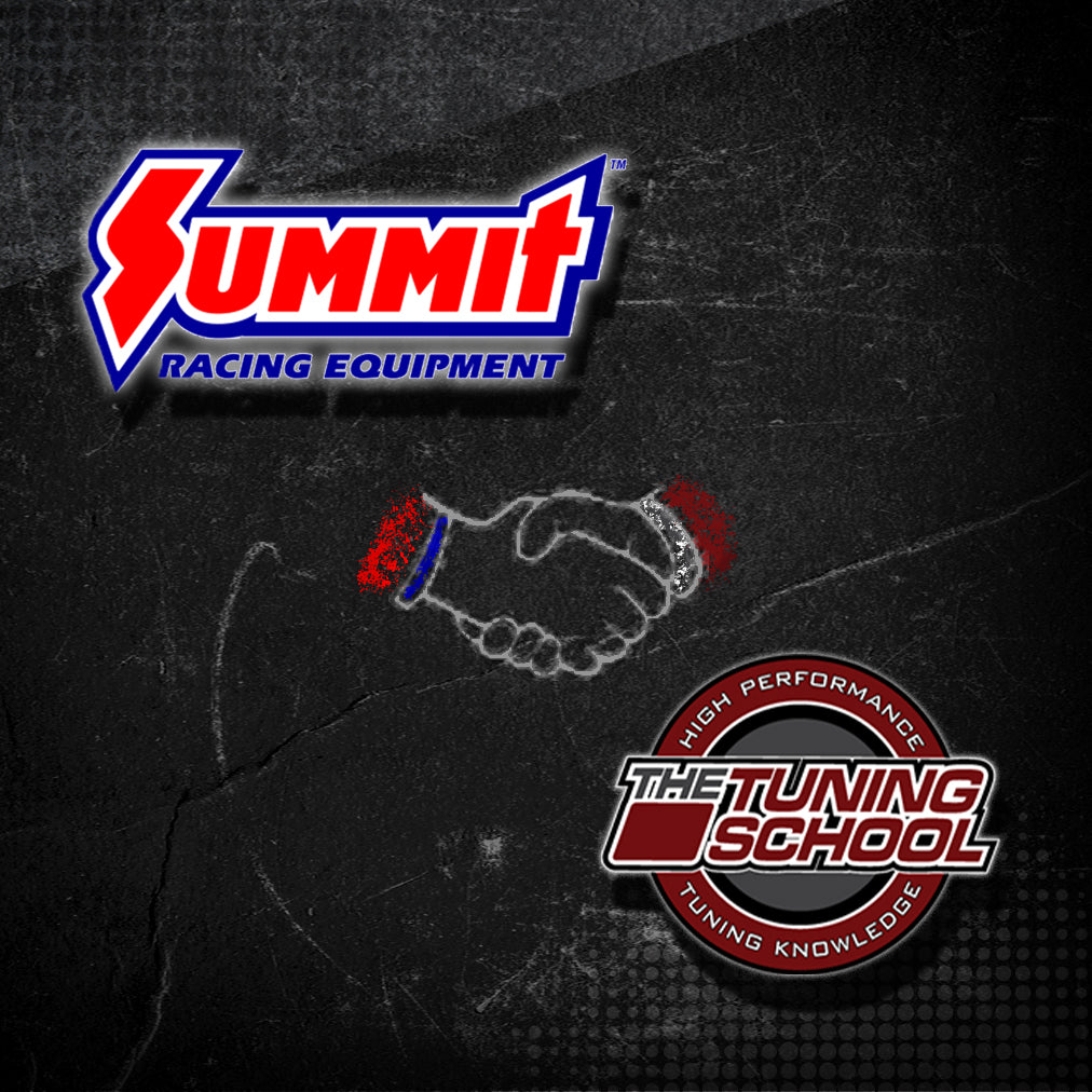 The Tuning School is proud to announce our brand new partnership with Summit Racing Equipment!