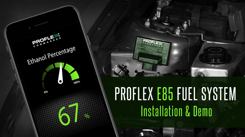 Installing the Proflex Commander