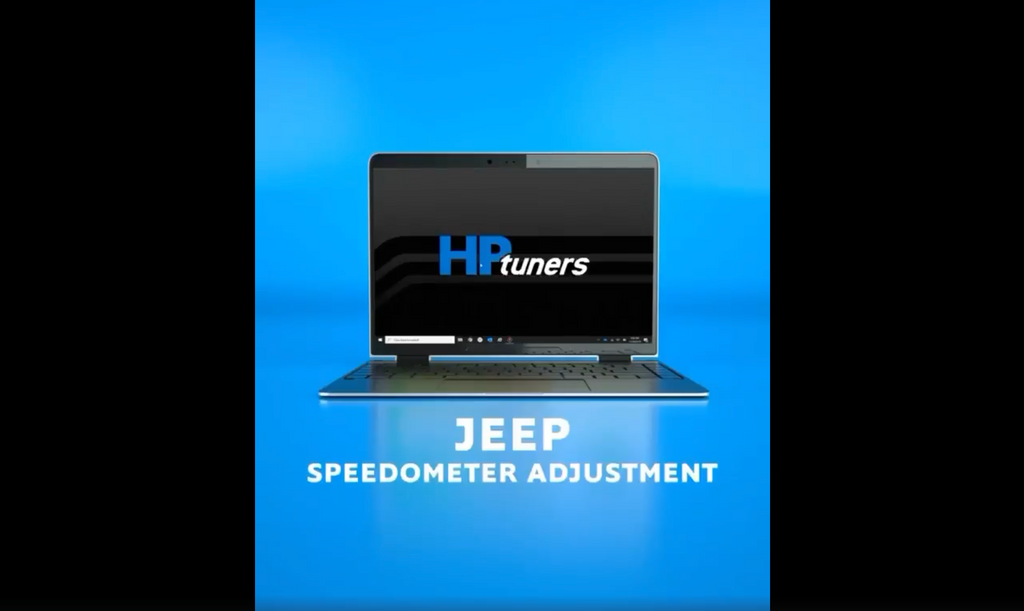 Gear/Tire and Speedometer Adjustment on HP Tuners