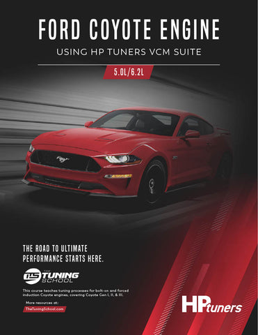 Ford Coyote Tuning using HP Tuners