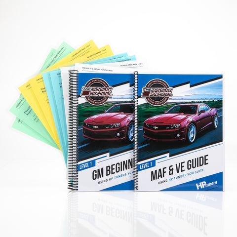 GM HP Tuners Level 1 & Level 2 Learn at home course bundle (1 year of support) *SOFTWARE NOT INCLUDED