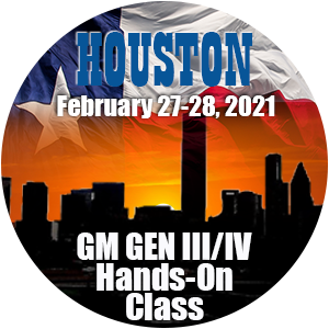 GM Level 1 Hands-On Class using HP Tuners - Houston, TX February 2021