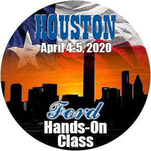 Ford Level 1 Hands-On Class using HP Tuners - Houston, April 2020