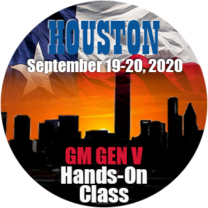 GM GEN V Hands-On Class using HP Tuners - Houston, TX September 2020