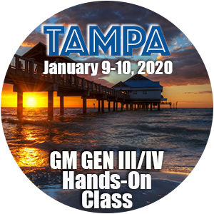 GM Level 1 Hands-On Class using HP Tuners - Tampa, FL  January 2020