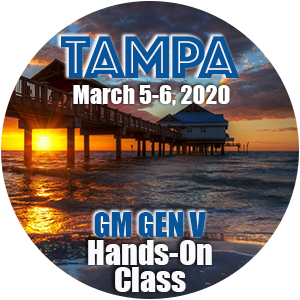 GM GEN V Hands-On Class using HP Tuners - Tampa, FL March 2020
