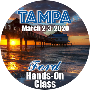Ford Level 1 Hands-On Class using HP Tuners - Tampa, March 2020