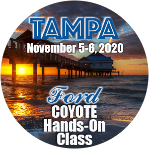 Ford Coyote Hands-On Class using HP Tuners - Tampa, November 2020