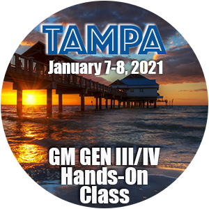 GM Level 1 Hands-On Class using HP Tuners - Tampa, FL  January 2021