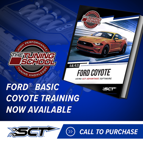 SCT Hands-On Class for Ford Coyote Feb 1-2, 2020