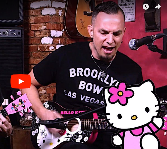 "Tremonti cover Metallica's ""Welcome Home (Sanitarium)"" on Hello Kitty Guitars"