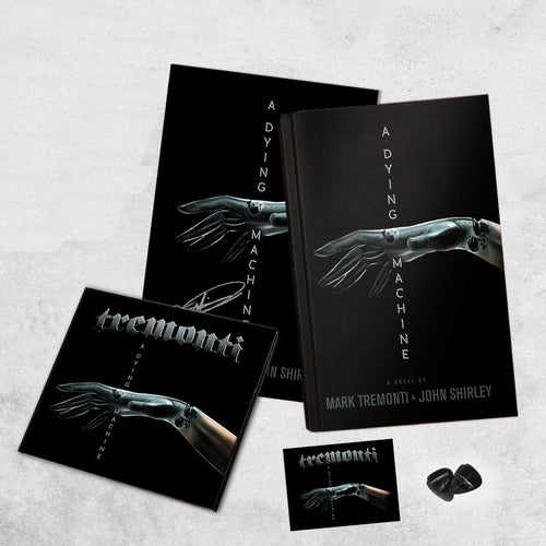 A Dying Machine – Limited First Edition Hardcover Novel Album Bundle