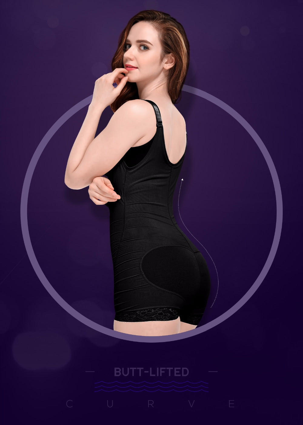 Body Shaper Bodysuit Slimming Underwear Waist Trainer Posture Control Shapewear Lingerie For Women