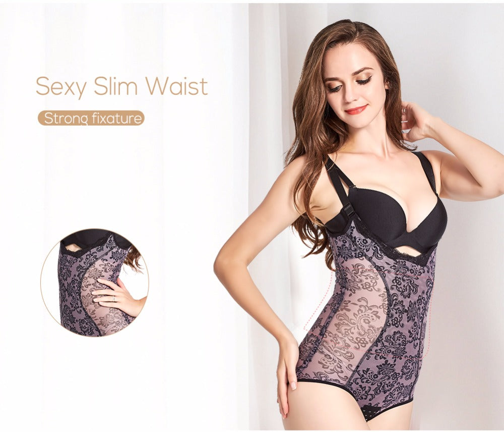 Body Shaper Bodysuit Waist Trainer Butt Lifter Shapewear Slimming Lingerie For Women