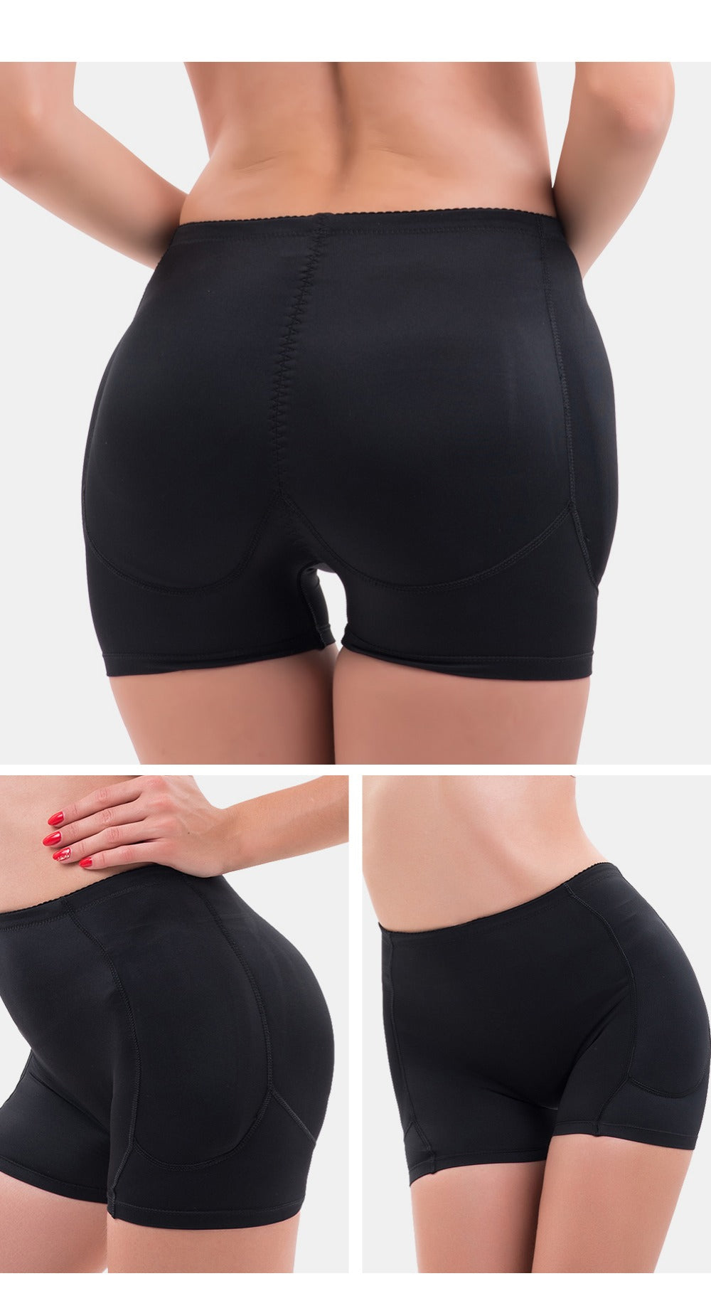 Body Shaper Butt Enhancer Briefs With Hips Pads Push Up Hot Pants Slimming Lingerie Hip Shaper High Waist Sexy Curve Enhancing Shapewear Lingerie