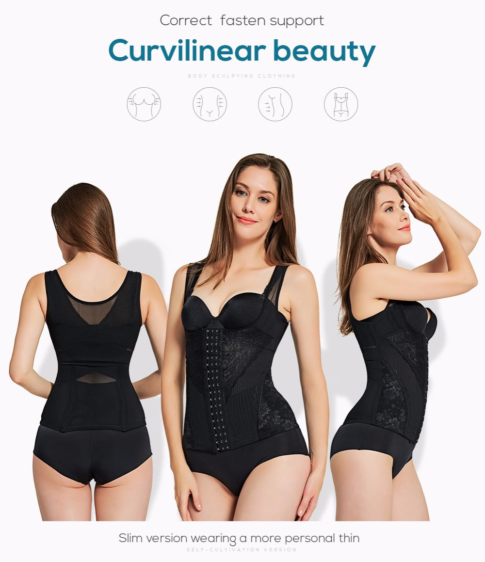 Body Shaper Corset Waist Trainer Slimming Underwear Modeling Strap Body Shaper Shapewear For Women