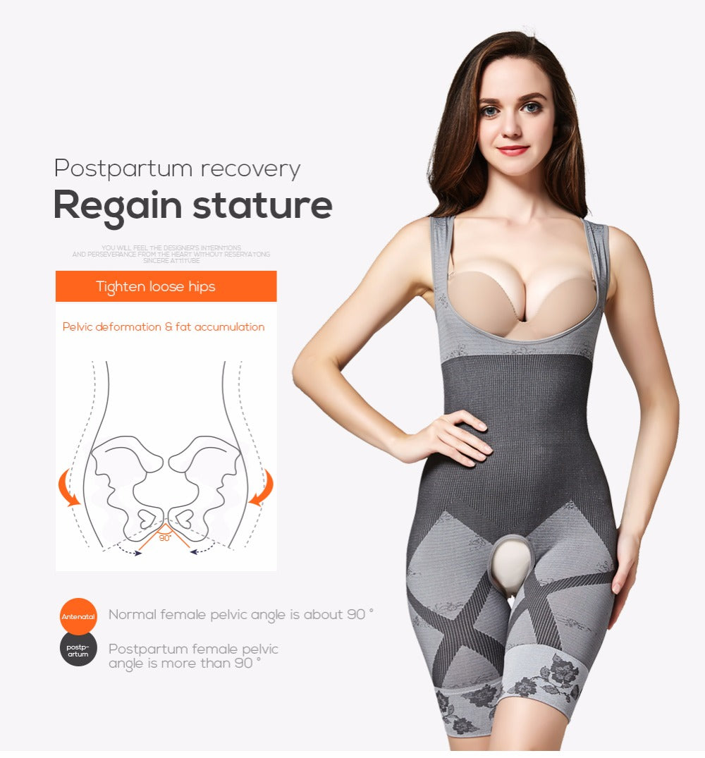 Body Shaper Shapewear Bodysuit Slimming Waist Trainer Butt Lifter Total Body Shape Control Shapewear Underwear For Women
