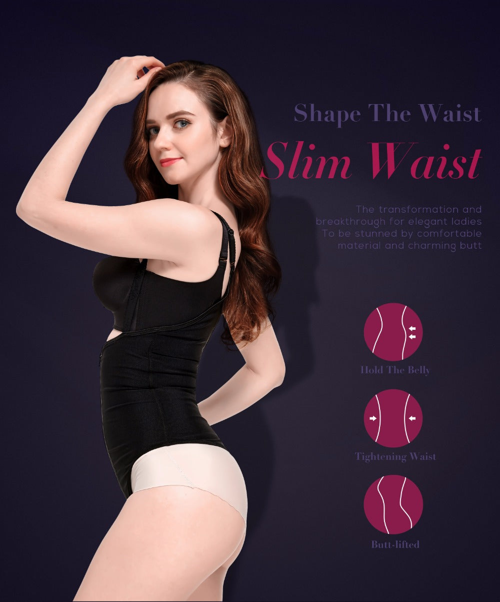 Body Shaper Slimming Corset Bodysuit Shapewear Underwear Waist Modeling Strap Women Body Shaper