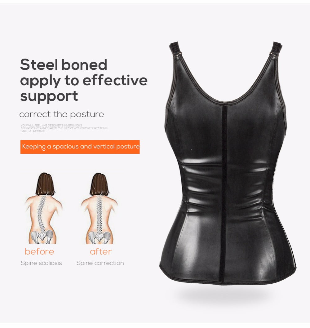 Latex Waist Slimmer Body Shaper Trainer Corset Hot Body Shapewear