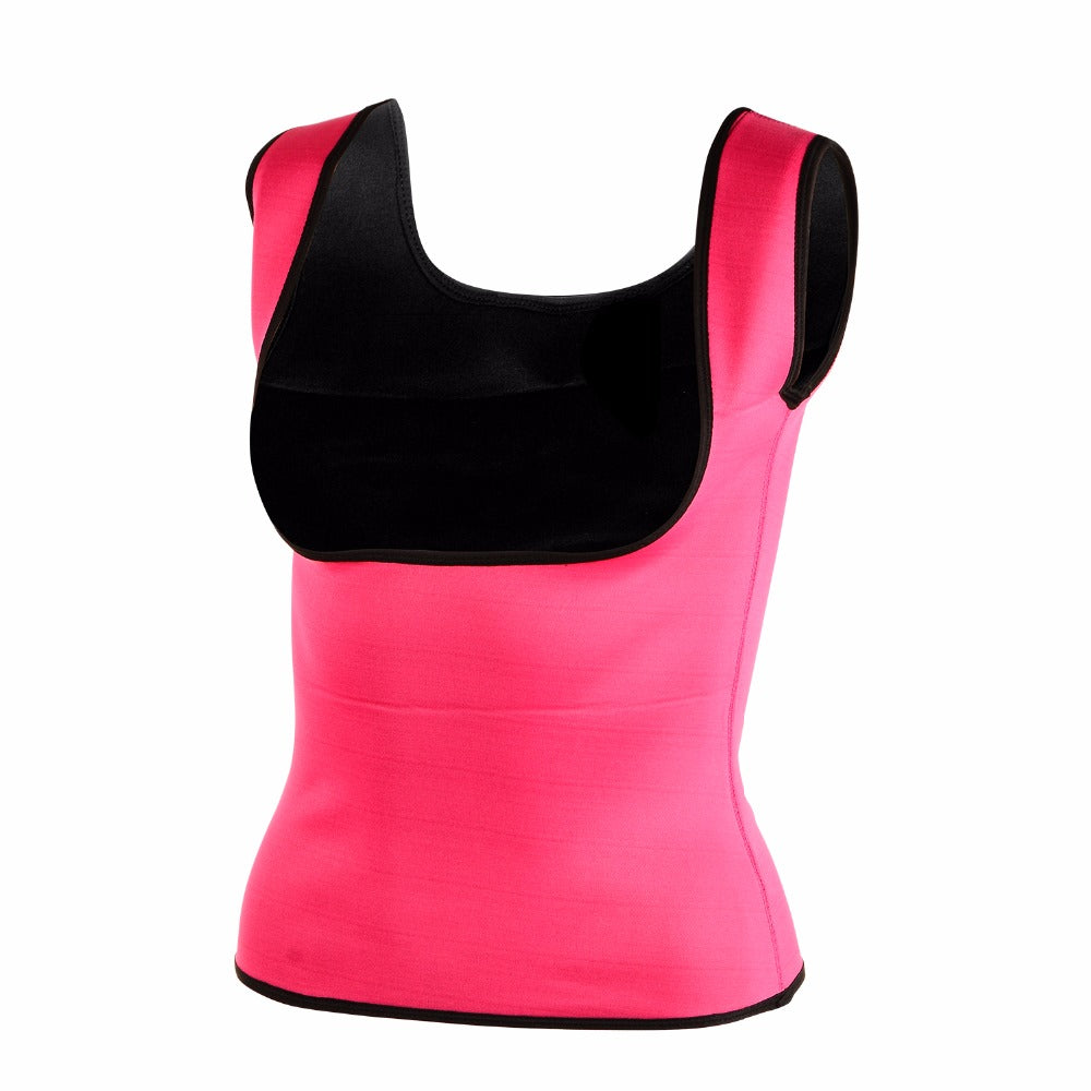 Neoprene Body Shaper Women's Gym Top Hot Shaper Slimming Underwear Women's Sports Shapewear