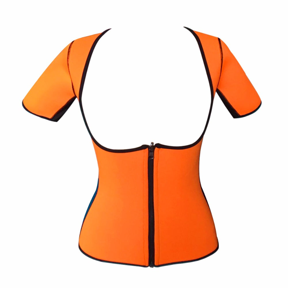 Neoprene Sports Body Shaper Bodysuit Waist Slimming Waist Trainer Active Sportswear Gymwear Fitness Shapewear For Women