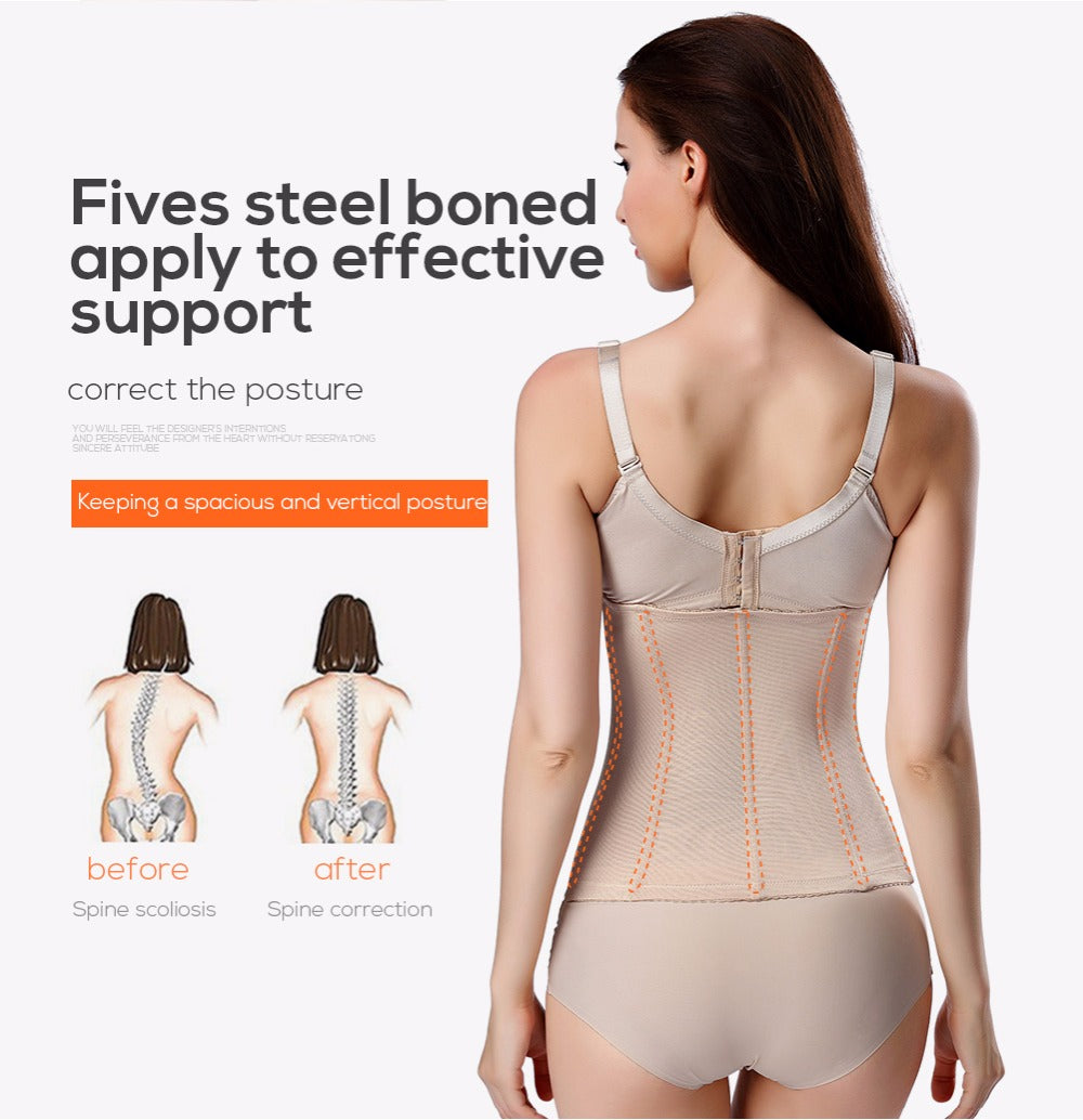 Slimming Body Shaper Corset Modeling Waist Trainer Slimming Underwear Shapewear For Women
