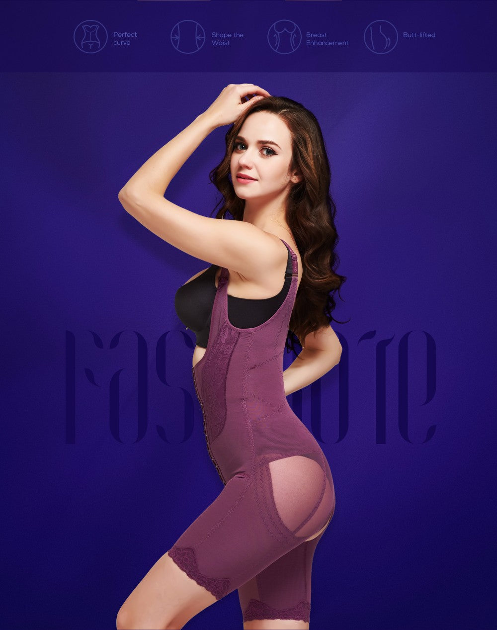 Slimming Underwear Bodysuit Waist Trainer Body Shaper Shapewear Weight Loss Corset For Women