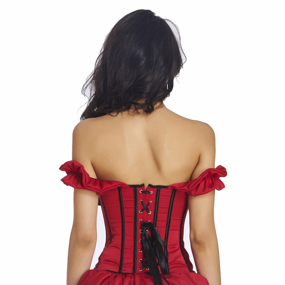 Waist Trainer Body Shaper Corset Gothic Style Corselet Slimming Shapewear Bustier For Women.