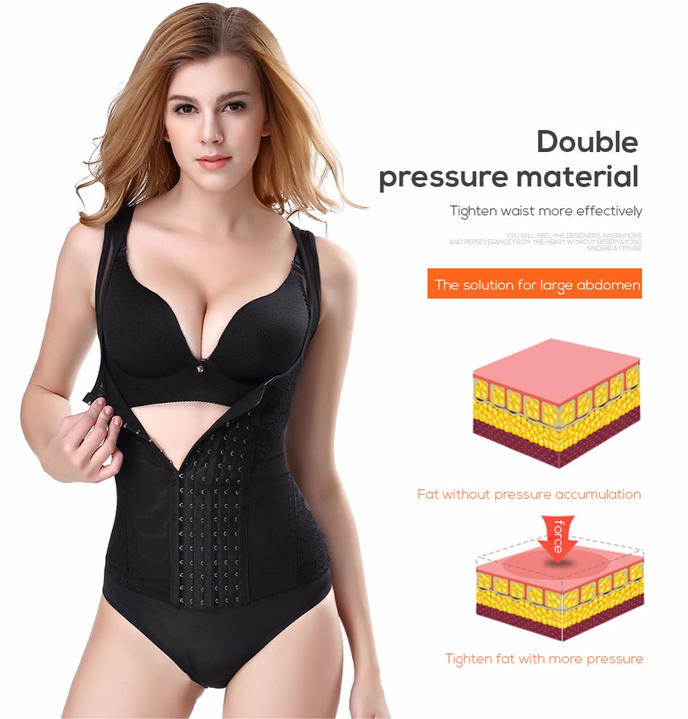 Waist Trainer Body Shaper Slimming Corset Hot Shapers Shapewear Slimming Underwear For Women.