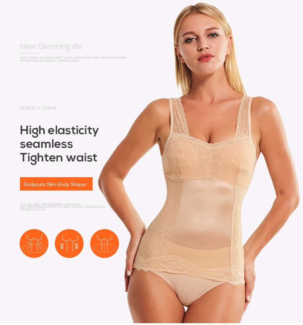 Women's Body Shaper Underwear Slimming Corset Bodysuit Shapewear