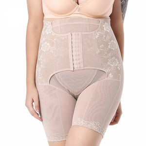 Plus Size Waist Trainer Corset Slimming Belt Body Shaper Control Pants Slimming Corset Shapewear For Women