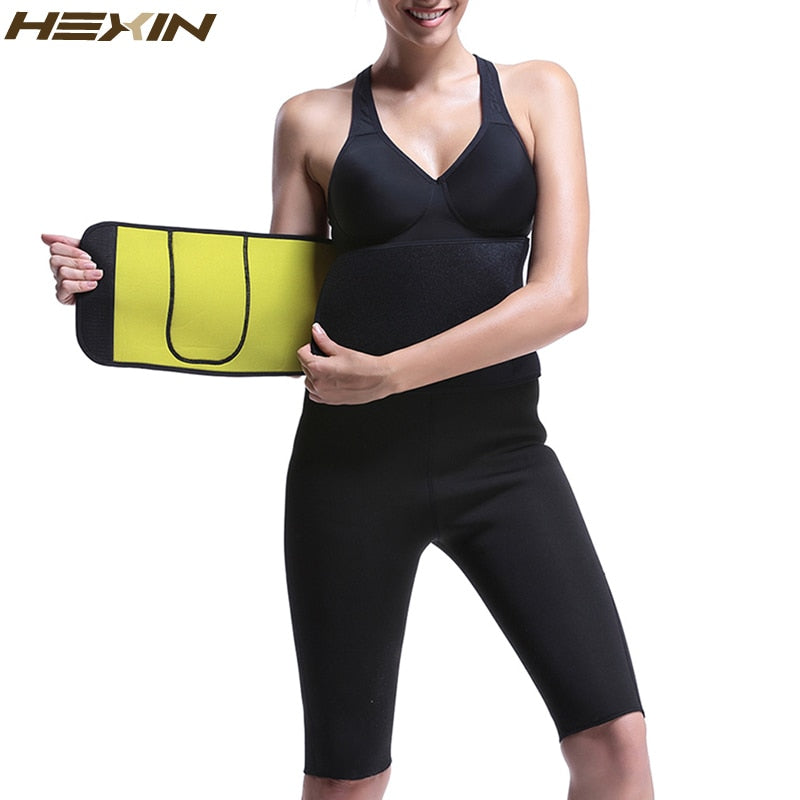 66e577f488 ... HEXIN Hot Shapers Women Body Shaper Slimming Shaper Belt Girdles Firm  Control Waist Trainer Cincher Pocket ...