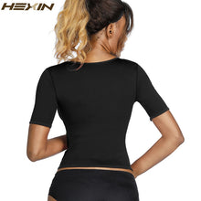 HEXIN Neoprene Sauna Sweat Waist Trainer Weight Loss Corset Control Tummy Hot Body Shaper Women Slimming Shapewear Top