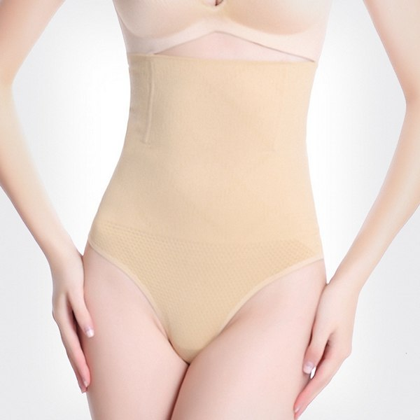 Slim Waist Underwear High Waist Firm Control Thong Back Butt Lifter Panties Shapewear Women Corset Body Shaper Waist Trainer
