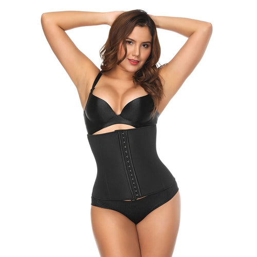 Abdominal Belt High Compression Hot Shapers Plus Size 3 XL Latex Waist Cincher Corset Fajas Neoprene Waist Trainer