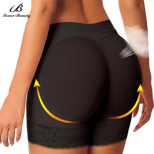 Lover Beauty Butt Lifters Hip Enhancer Booty Push Up Padded Underwear Panties Body Shaper Control Panties Buttock Boyshort Pants