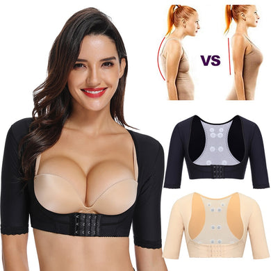 Miss Moly Women's Shapewear Tops Slimming Arm Shapers Slim Underwear Back Shoulder Corrector shaper Humpback Prevent