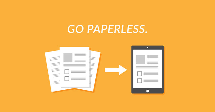 Going Paperless...