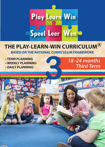 Curriculum 18-24 months TERM 3