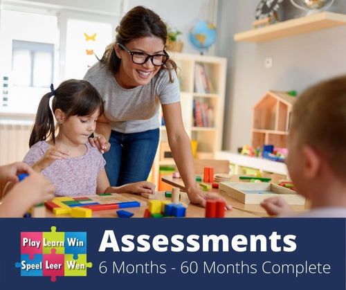 6 months -5 years Assessments - Based on the ELDA's
