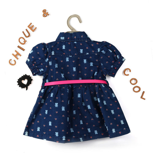Bunny Allover Girl's Frock