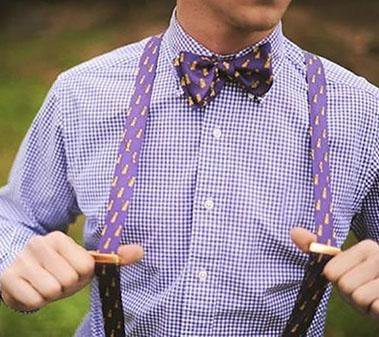 The Dynamic Duo of Suspenders and Bow Ties