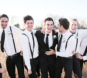 Groomsmen, Wedding Style and Suspender