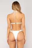 Ready For The Sun Bikini - White
