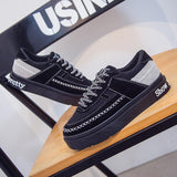 Mark Line Lace-Up Casual Comfortable Running Sneakers