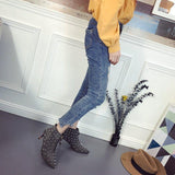 Pure color Suede Rivets Stiletto Heel Pointed Toe High Heels