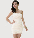 Off Shoulder Slim Evening Cocktail Clubwear Party Mini Dress