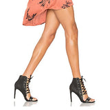 Open Toe Straps Cross Stiletto High Heels Sandals