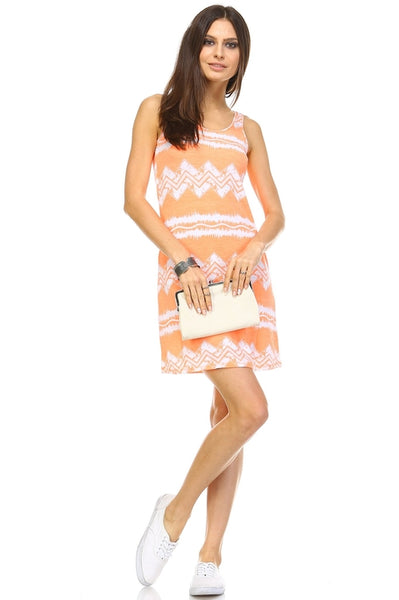 Women's Printed Mini Dress