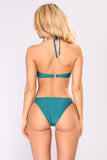 Wave After Wave Bikini Set - Green
